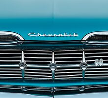 1959 Chevrolet Grill by dlhedberg