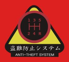 JDM - Anti-Theft System (Pattern 1) (dark) by ShopGirl91706