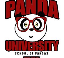 Panda University - Red by Adamzworld