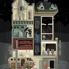 Moon Base (Halloween Edition) by pixelshuh