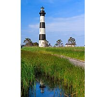 Bodie Island Lighthouse Reflection Photographic Print