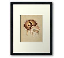 Mind Reader Framed Print