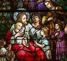 Christ Blesses the Children, Visitation BVM, Philadelphia by PhillyChurches