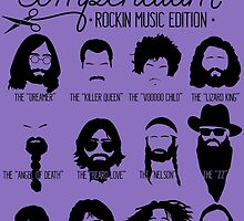 Music Facial Hair Compendium by RetroReview