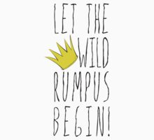 Where the Wild Things Are - Rumpus Begin Crown Cutout Kids Clothes