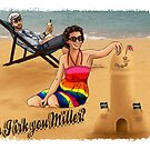 Do I irk you Miller? (Broadchurch) - (Card) by ifourdezign