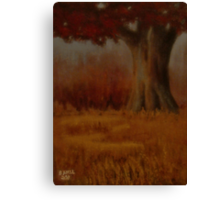 """""""... Down by the Big Oak... at Sundown!""""... products  Canvas Print"""