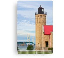 Lighthouse and the Mighty Mac Canvas Print