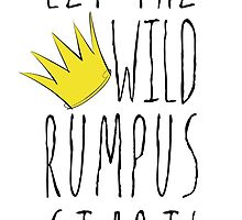 Where the Wild Things Are - Rumpus Start Crown Cutout by thebremanmuseum