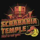 Greetings From Scrabania Temple by Scott Neilson Concepts