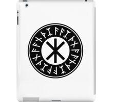 Odin's Protection No.1 (black) iPad Case/Skin