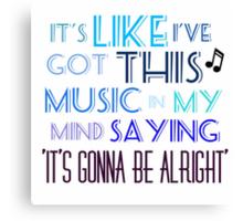 Shake it off- Taylor Swift Canvas Print