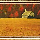 Mountain Autumn, with Framed Impression... Products by © Bob Hall