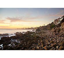 Night Beach Photographic Print