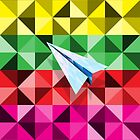 Paper Airplane 68 by YoPedro