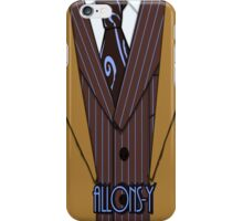 Brown Suit iPhone Case/Skin