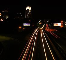 City at Night by paulboggs