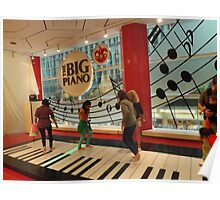 The Big Piano, FAO Schwarz Toy Store, New York City Poster