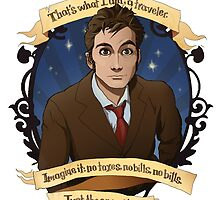10th Doctor - Doctor Who by muin-an-staers
