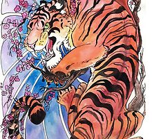 Tiger tiger burning bright by jupiterjenn