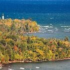 Au Sable Point Lighthouse by Kenneth Keifer