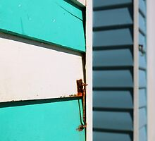 Brighton beach huts by BeninFreo