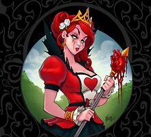 The Queen of Hearts by Martin Abel