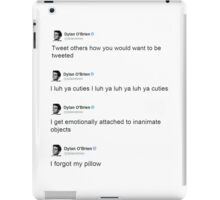 Best of: Dylan O'briens tweets iPad Case/Skin