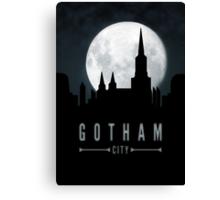 Gotham Moon Canvas Print