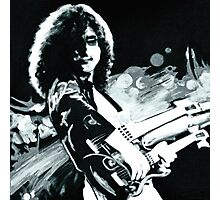 Jimmy Page. Led Zeppelin IV Remastered  Photographic Print