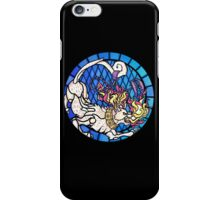 The Panther Window (On Black) iPhone Case/Skin