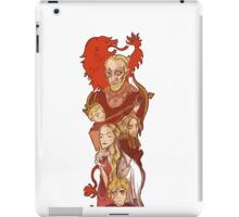 lannister bookmark (well it was a bookmark but i guess you can make it whatever you want) iPad Case/Skin