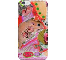 Time (to pass on your damaged) genes  iPhone Case/Skin