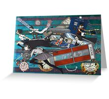 Time Travellers Greeting Card