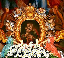 Miraculous image of Our Lady of Inzing Tyrol by Elzbieta Fazel