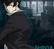Psycho Pass - Shinya Kogami by nekyobot