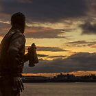 Captain Walker at the Liverpool Pier Head by Paul Madden