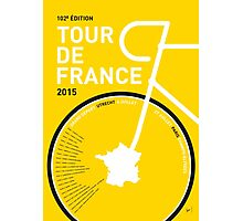 My Tour de France Minimal poster Photographic Print