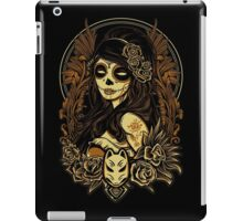Night of the Kitsune Mask iPad Case/Skin