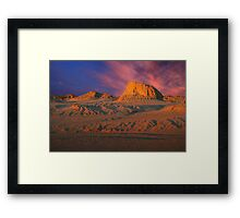 Colours of Mungo Framed Print