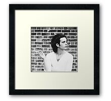 Matty Healy Framed Print