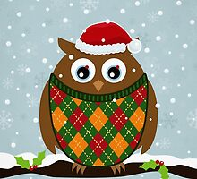 Christmas Owl by mattandrews