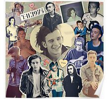 The 1975- Matty Healy collage Poster