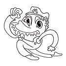 Fuglingly Great - Mario by Kitty Rispens