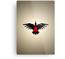 Blood Ravens - Sigil - Warhammer Metal Print
