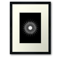 LUX LIGHT LICHT Framed Print