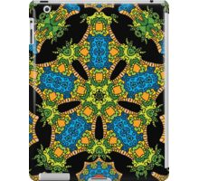 Psychedelic jungle kaleidoscope ornament 24 iPad Case/Skin