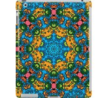 Psychedelic jungle kaleidoscope ornament 25 iPad Case/Skin
