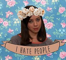 April Ludgate - I Hate People by ziggylou