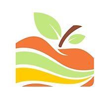 apple-in-piece-color-logo by mydigitall